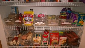 WM food prep, pantry