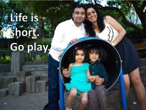 Life is short.  Go play Ashi family.