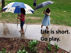 Life is short.  Go play K & M