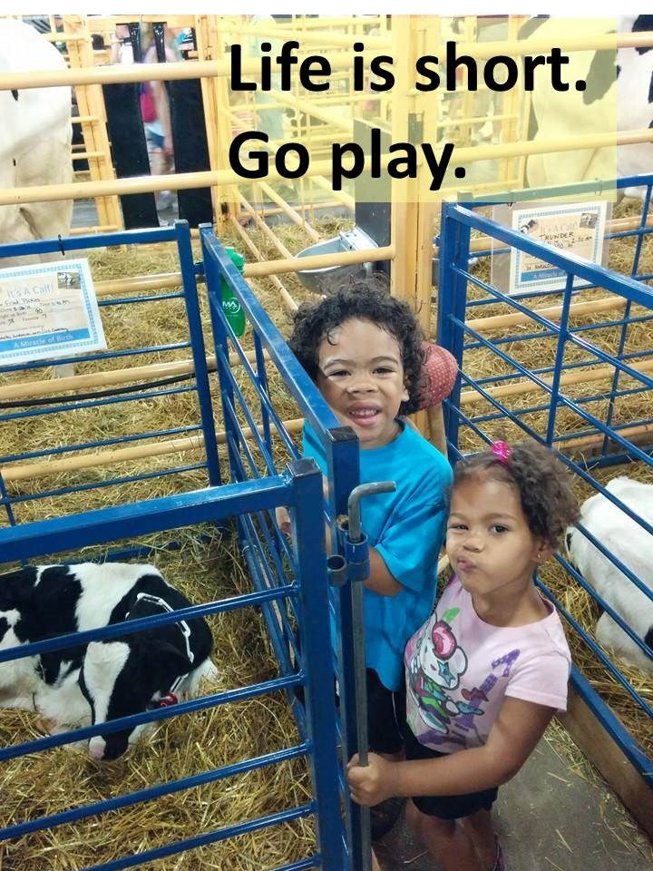 Life is short.  Go play G & K at the fair.