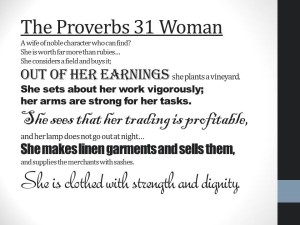 The Proverbs 31 Woman