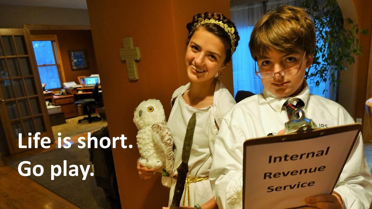 Life is short halloween