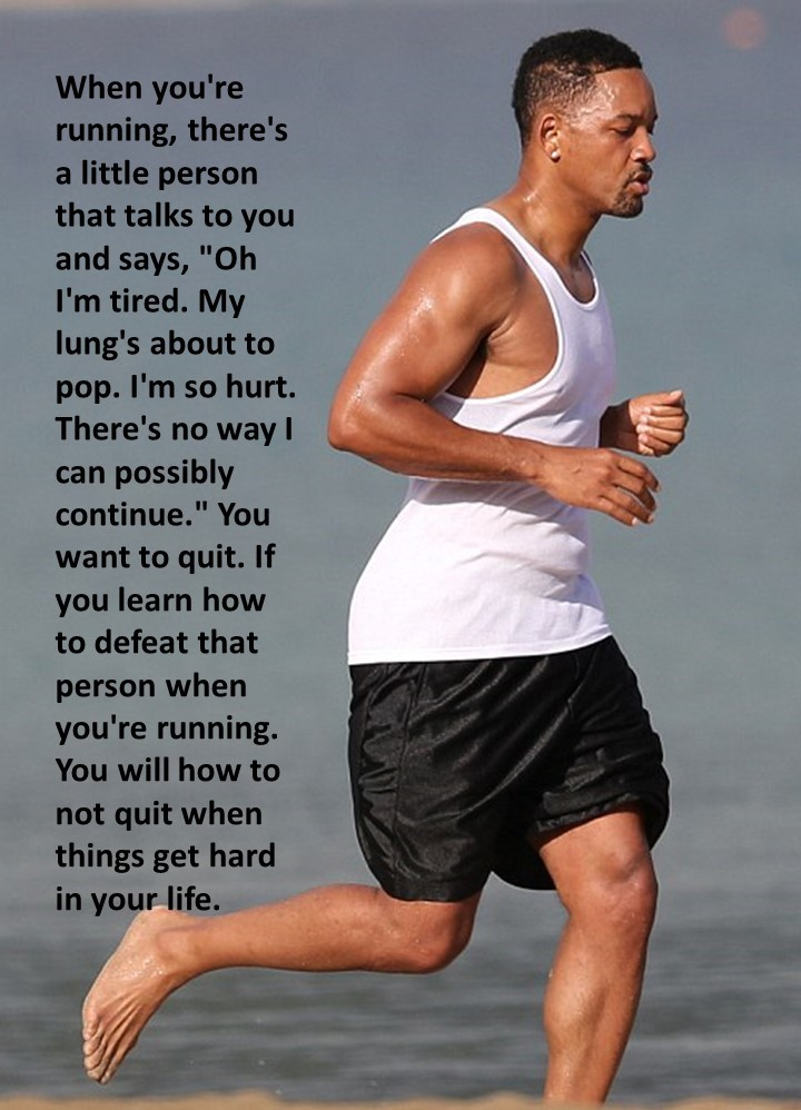 WM will smith on running